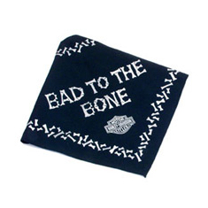 Coastal Harley Davidson Bad To The Bone Bandanna