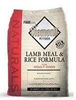 Diamond Naturals Lamb Meal and Rice Dry Dog Food
