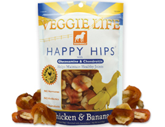 Dogswell Happy Hips Veggie Life Chicken and Banana Wraps