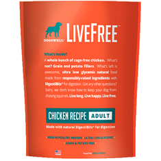 Dogswell LiveFree Adult Chicken Recipe