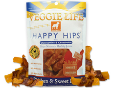 Dogswell Veggie Life Happy Hips Chicken and Sweet Potato Wraps