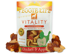 Dogswell Vitality Veggie Life Chicken and Apple Wraps