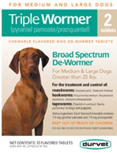 Durvet Triple Wormer 25 LBS