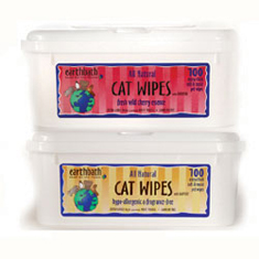Earthbath Cat Grooming Wipes