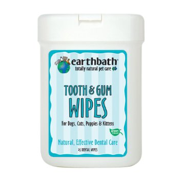 Earthbath Tooth and Gum Wipes