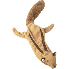 Ethical Products Skinneeez Plush Flying Squirrel Toy