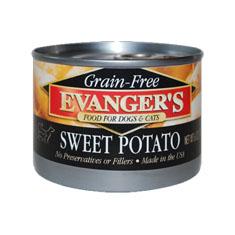 Evangers Grain Free Sweet Potato Cans