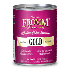Fromm Gold Label Salmon and Chicken Pate