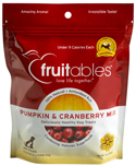 Fruitables Pumpkin and Cranberry Mix Dog Treats