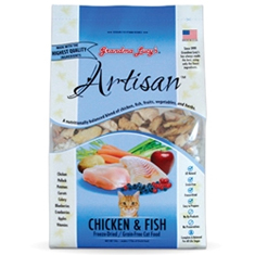 Grandma Lucys Artisan Chicken and Fish Cat Food