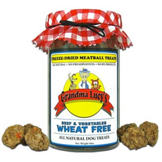 Grandma Lucys Freeze Dried Meatballs Beef and Vegetable