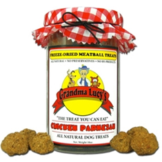 Grandma Lucys Freeze Dried Meatballs Chicken Parmesan