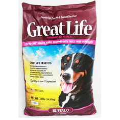 Great Life Buffalo Dog Food