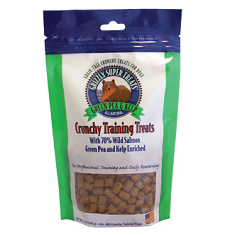 Grizzly Wild Salmon Green Pea Kelp Grain Free Crunchy Treats