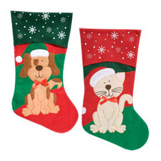 Holiday Pet Stockings