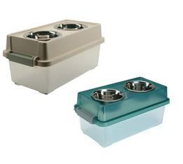 IRIS Medium Elevated Feeder with Storage FSM