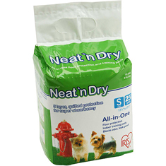 IRIS Neat n Dry Floor Protection and Training Pads 25ct Small