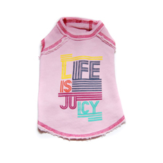 Juicy Couture Life is Juicy French Terry Shirt