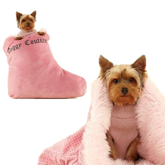 Juicy Couture Stocking Sleeping Bag Bed