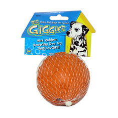 JW Pet Giggler Ball Dog Toy