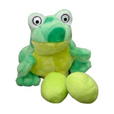 Kyjen Egg Babies Dog Toy