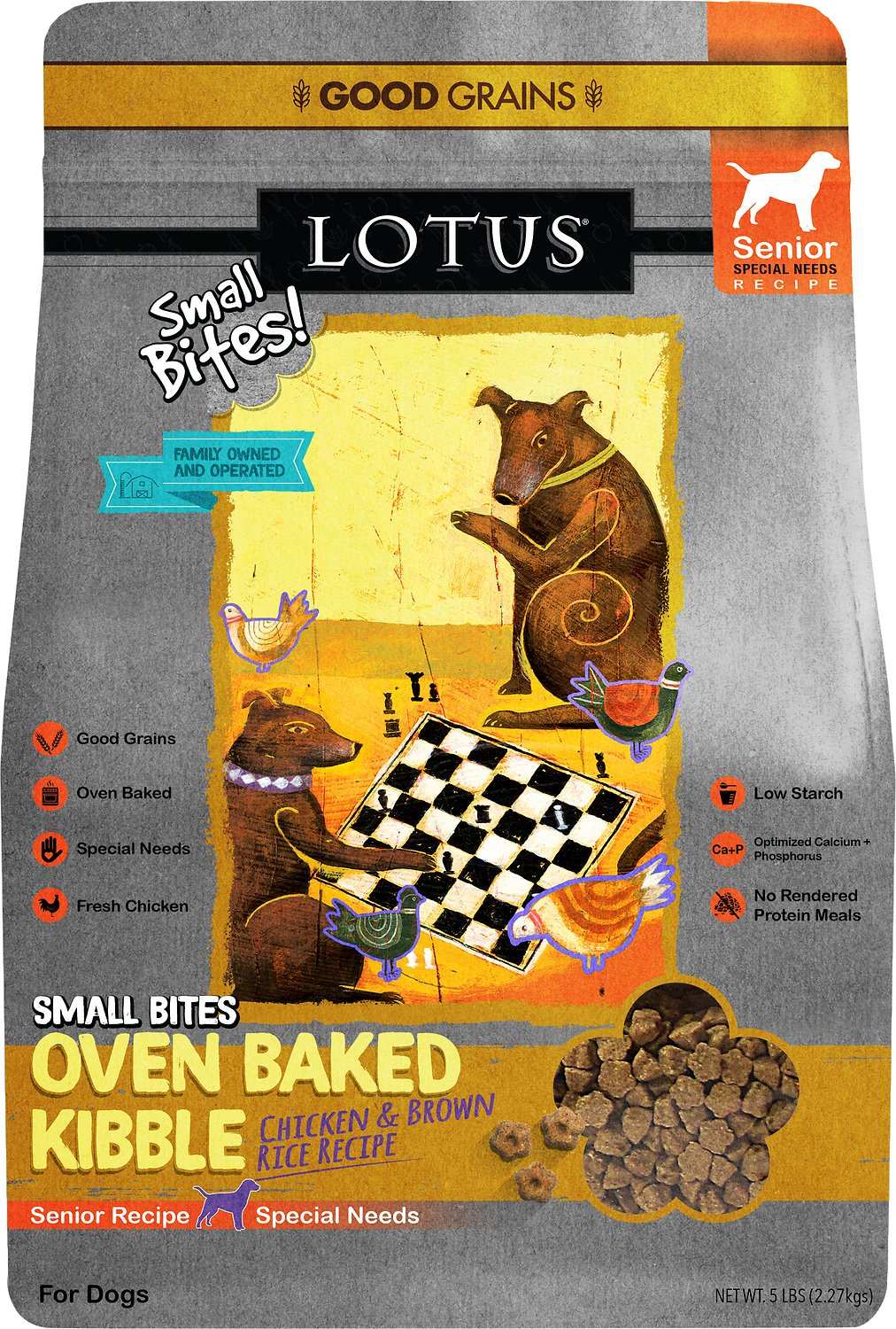Lotus Small Bites Wholesome Senior Recipe