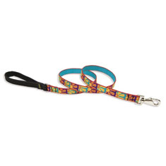 Lupine Pet Crazy Daisy Padded Handle Lead