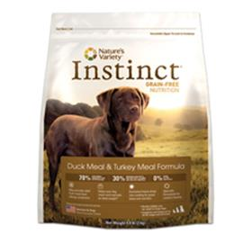 Natures Variety Instinct Duck and Turkey Dog Food