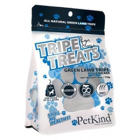 PetKind Tripe Treats Green Lamb Tripe with Chicken