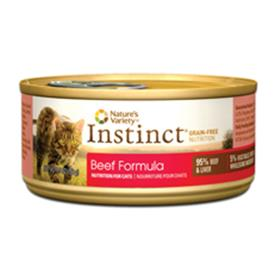 Natures Variety Instinct Beef Formula Canned Cat Food