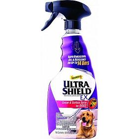 Absorbine UltraShield EX Insecticide Repellent Carpet Surface Spray For Dogs