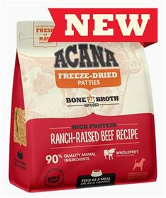 Acana Freeze Dried Food Ranch Raised Beef Recipe