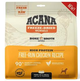 Acana Freeze Dried Morsels Free Run Chicken Recipe for Dogs
