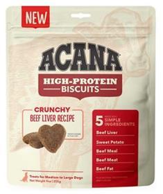 Acana High Protein Biscuits Crunchy Beef Liver Recipe