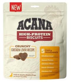 Acana High Protein Biscuits Crunchy Chicken Liver Recipe