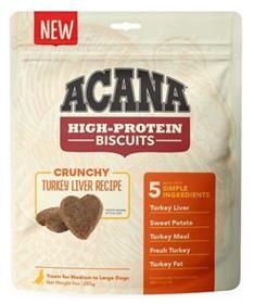 Acana High Protein Biscuits Crunchy Turkey Liver Recipe