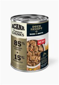 Acana Premium Chunks Duck Recipe in Bone Broth Wet Dog Food
