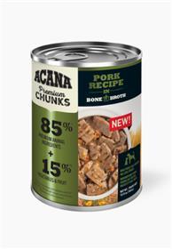 Acana Premium Chunks Pork Recipe in Bone Broth Wet Dog Food