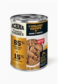 Acana Premium Chunks Poultry Recipe in Bone Broth Wet Dog Food
