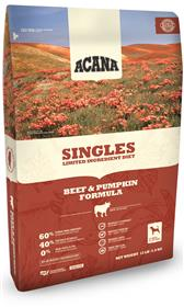 Acana Singles Limited Ingredient Beef and Pumpkin Dry Dog Food