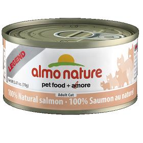 Almo Natural Salmon Canned Cat Food