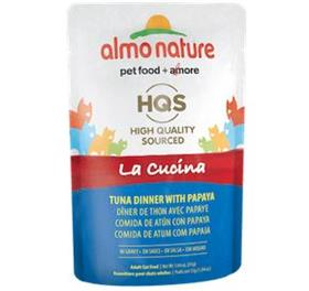 Almo Nature Cat La Cucina Pouch Tuna with Papaya