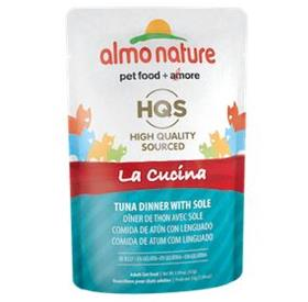 Almo Nature Cat La Cucina Pouch Tuna with Sole