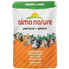Almo Nature Chicken Breast and Duck Food Pouch Green Label