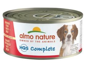 Almo Nature HQS Complete Chicken Stew with Beef in Gravy