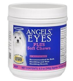 Angels Eyes Beef Flavored Soft Chews for Dogs and Cats