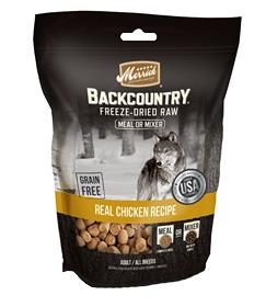 Merrick Backcountry Freeze Dried Meal Mixer Real Chicken Recipe