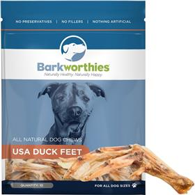 Barkworthies Duck Feet