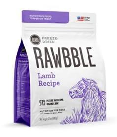 Bixbi Rawbble Lamb Recipe Grain Free Freeze Dried Dog Food