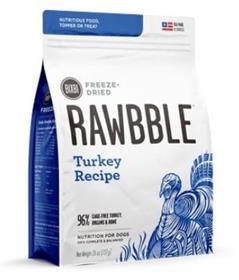 Bixbi Rawbble Turkey Recipe Grain Free Freeze Dried Dog Food
